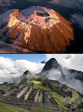 Machu Picchu Vs Kilimanjaro