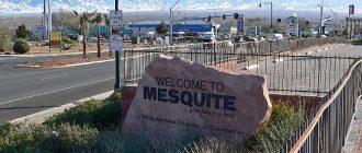 Mesquite from Las Vegas