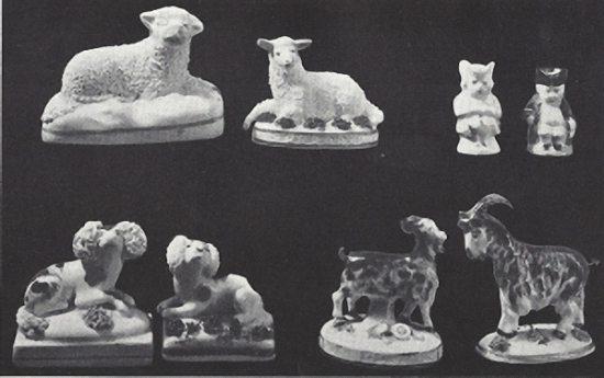 Staffordshire animals