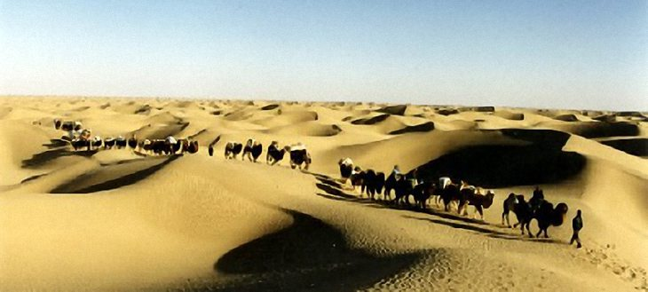 Attractions of the Taklimakan Desert