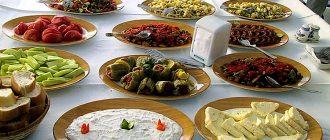 Turkish Wedding Food