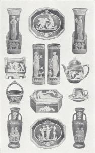 Wedgewood style porcelain immitations