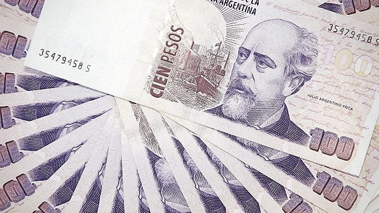 The currency used in Argentina is the peso