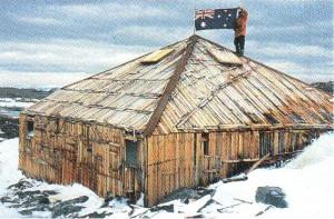 The hut of Australian explorer Douglas Mawson
