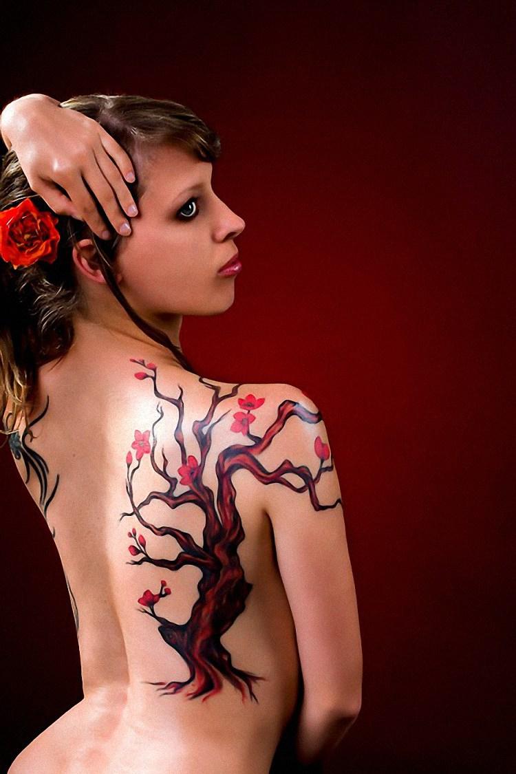 Japanese Cherry Blossom Tattoos