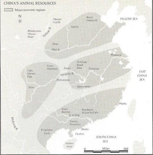 China's animal resources