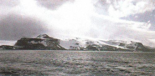 Most of Heard Island is ice-covered and actively volcanic