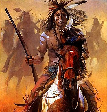 Native American Indians Warriors