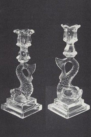 Dolphin candlesticks