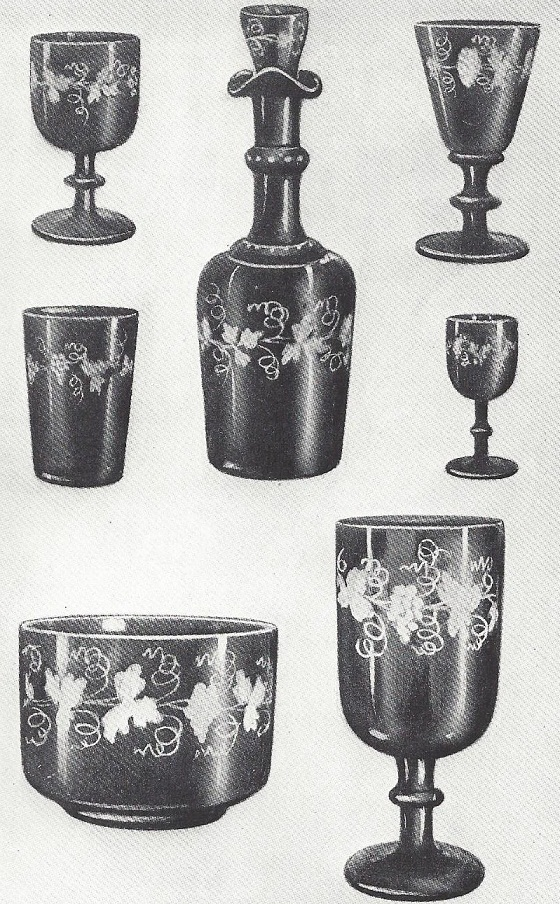 Imported bohemian glass
