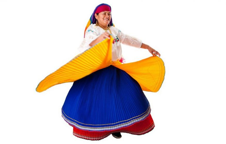 Traditional Colombian Dress