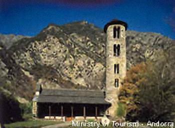 Santa Coloma Church, Andorra